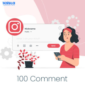 Buy 100 Instagram Comment