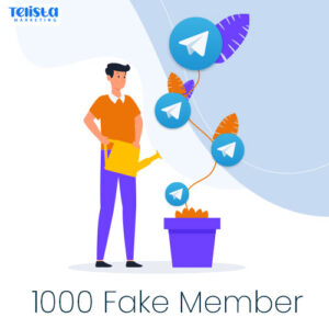 1000 Fake member telegram