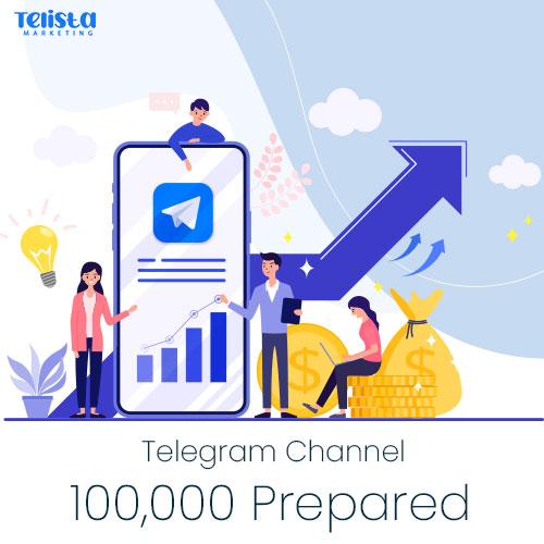 100000-Prepared-Telegram-Channel