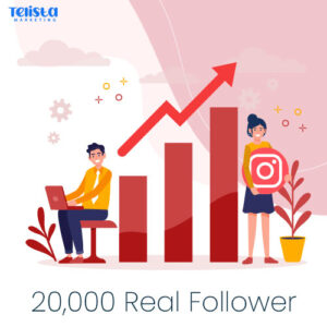 20,000 Real instagram followers