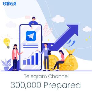 300000-Prepared-Telegram-Channel