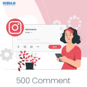Buy 500 Instagram Comment