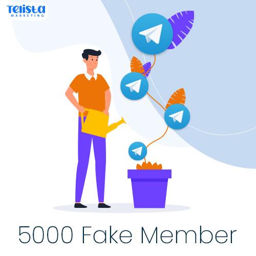 5000 fake telegram