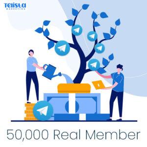 50,000 Real telegram member