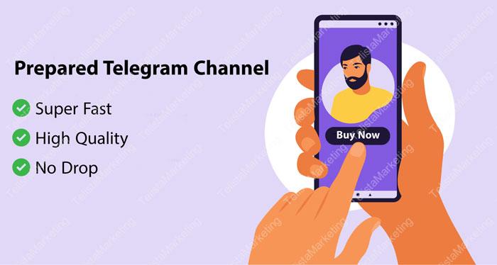 buy prerared telegram